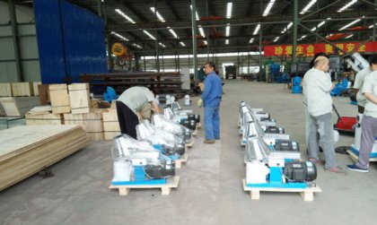 10 sets of electric pellet machines were exported to Korea
