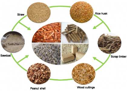 Biomass molding fuels have great potential for development