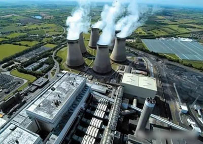 Drax power plant in UK