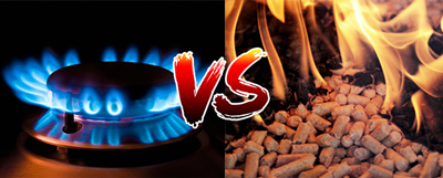 Why is biomass a better alternative to natural gas?