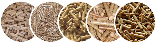 biomass pellets types