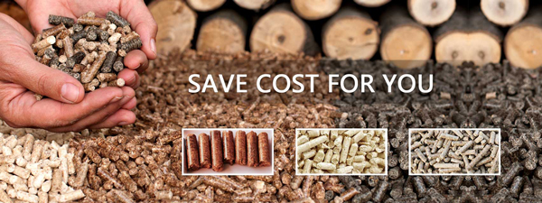 choose wood pellets