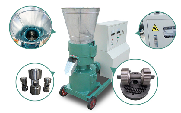 details of pellet machine