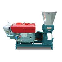 diesel engine pellet mill