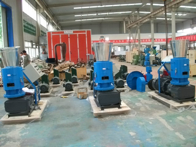 electric pellet machine 400B