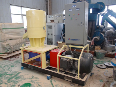 An electric pellet machine 550B was exported to Nigeria