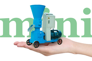 Convenient and flexible mini pellet machine for sale