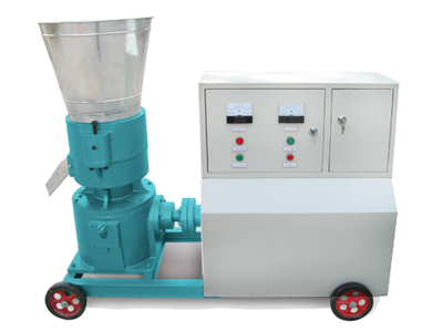 mobile pellet machine