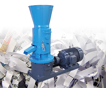 Paper pellet making machine