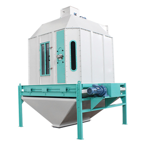 pellet cooler in small pellet production line