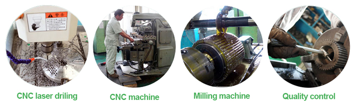pellet machine production
