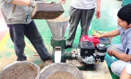 How to prolong the working life of a pellet machine?