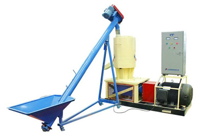 screw feeder and wood pellet machine