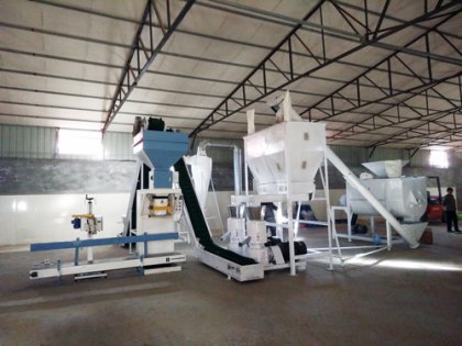 2ton/h feed pellet plant in Philippines