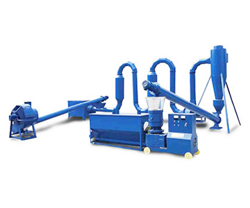<b>Small wood pellet production line</b>