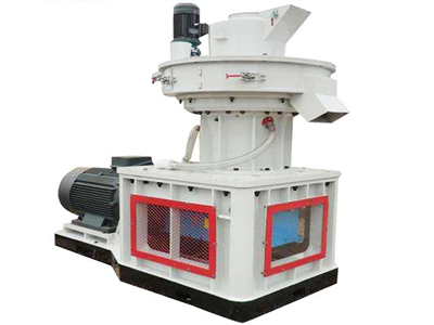 vertical type ring die pellet machine