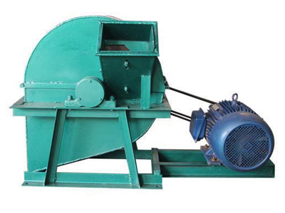 Disk chipper to make branches and wood scraps into chips