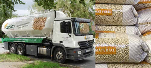 wood pellet transportation
